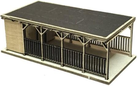 Modellbausätze und Modellzubehör - Carport mit Schuppen